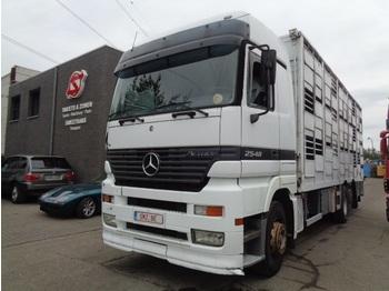 Ciężarówka do przewozu zwierząt Mercedes-Benz Actros 2548 3 pedal retarder