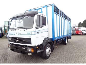 Mercedes-Benz Atego 1317 + Manual + Horse Transport - ciężarówka do przewozu zwierząt