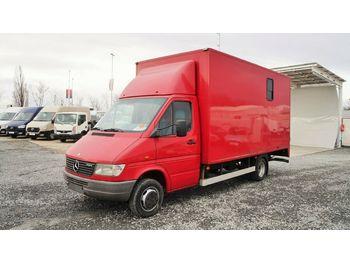 Ciężarówka do przewozu zwierząt Mercedes-Benz Sprinter 412D PFERDETRANSPORT / bis 3,5t