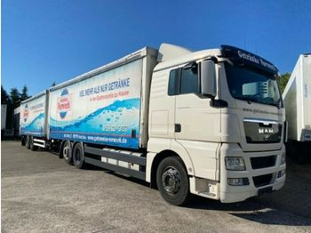 MAN TGX 26.440 mit Anhänger Getränke LDW 2.000kg  - ciężarówka do transportu napojów