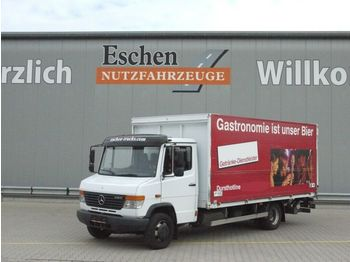 Ciężarówka do transportu napojów Mercedes-Benz 818 D Vario, Böse Schwenkwand, LBW