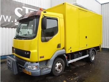 Ciężarówka furgon DAF LF 45.130 , Spring suspension
