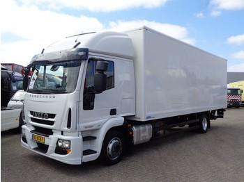 Ciężarówka furgon Iveco EuroCargo 120E21 + Euro 6 + Lift