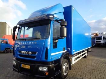 Ciężarówka furgon Iveco EuroCargo 120E21 + Euro 6 + lift + 7 in stock