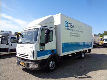 Ciężarówka furgon Iveco EuroCargo 75E18 + Manual + Euro 5 + Lift
