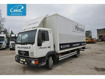 MAN 8.163 - ciężarówka furgon