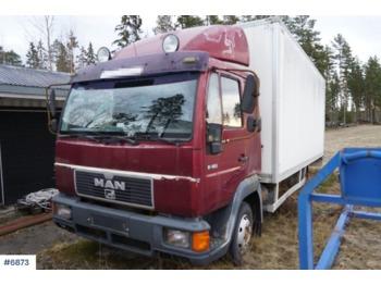 Ciężarówka furgon MAN 8.163