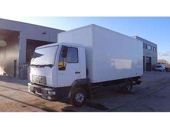 Ciężarówka furgon MAN LE 180 (FULL STEEL SUSPENSION / BELGIAN TRUCK IN PERFECT CONDITION): zdjęcie 1