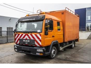 Ciężarówka furgon MAN LE 8.180 BB - DOKA
