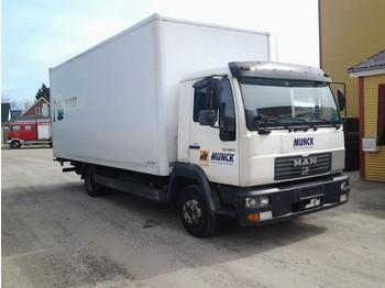 MAN L 140C Koffer Lift Manuel - ciężarówka furgon
