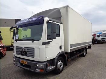 MAN TGL 12.180 + Manual + Dhollandia - ciężarówka furgon