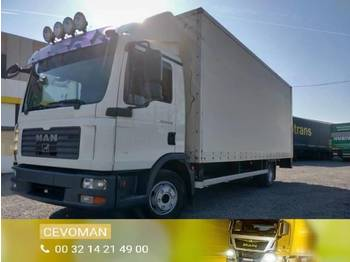 Ciężarówka furgon MAN TGL 12.210 Automaat euro4