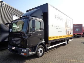 Ciężarówka furgon MAN TGL 12.210 + Euro 4 + Dhollandia Lift