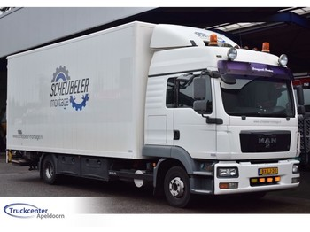 Ciężarówka furgon MAN TGL 12.210, Manuel, Euro 4, 665x245x262 box, Truckcenter Apeldoorn