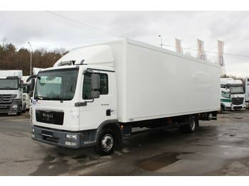 Ciężarówka furgon MAN TGL 12.2204X2BL,HYDRAULIC LIFT, 8,2 m,TIRES 80%