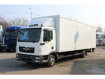 Ciężarówka furgon MAN TGL 12.220 4X2 BL,HYDRAULIC LIFT, 8,2 m