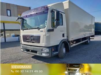 Ciężarówka furgon MAN TGL 12.220 bakwagen met laadklep euro5