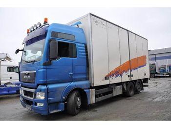 Ciężarówka furgon MAN TGX 26.480 6X2-2 LL