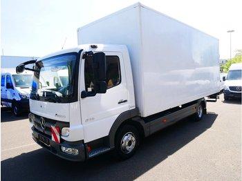 Ciężarówka furgon MERCEDES-BENZ Atego 816 Koffer mit LBW Ladebordwand