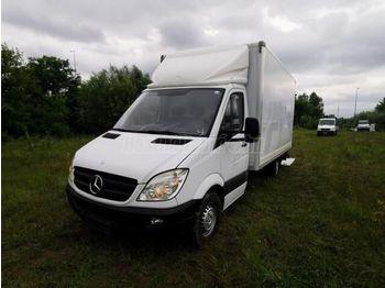 MERCEDES-BENZ SPRINTER 319 cdi Koffer+HF - ciężarówka furgon