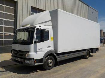 Mercedes 816 - ciężarówka furgon