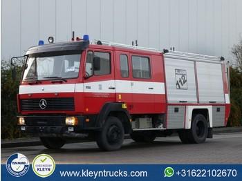 Mercedes-Benz 1117 manual steel fire tr - ciężarówka furgon