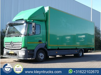 Ciężarówka furgon Mercedes-Benz ATEGO 1018 airco lift side door
