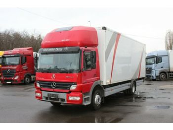 Mercedes-Benz ATEGO 1218 L, HYDRAULIC LIFT, SLEEPING BODY  - ciężarówka furgon