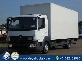 Ciężarówka furgon Mercedes-Benz ATEGO 818 manual lift airco