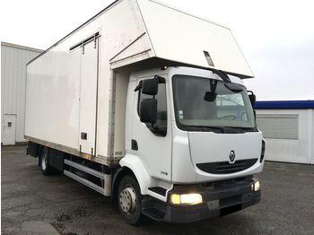 RENAULT midlum 240 caisse fourgon - ciężarówka furgon