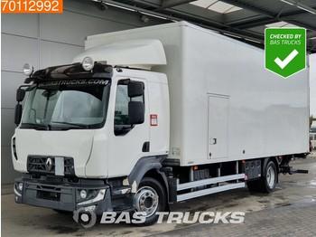 Ciężarówka furgon Renault D12.255 4X2 Ladebordwand Euro 6: zdjęcie 1