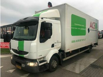 Renault MIDLUM 220-12 ML  - ciężarówka furgon