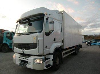 Ciężarówka furgon Renault Premium 26.450 Koffer 6x2, LBW, Manual, E5, Intarder