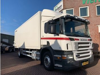 Ciężarówka furgon Scania P230 EURO5 BAKWAGEN MET LAADKLEP HOLLAND TRUCK
