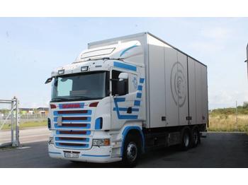 Ciężarówka furgon Scania R420LB 6X2
