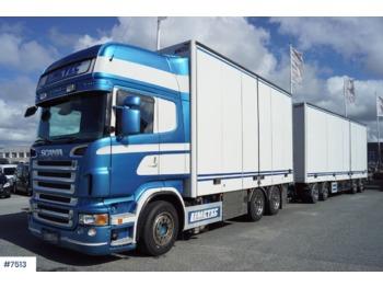 Scania R620 - ciężarówka furgon