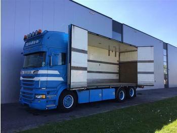 Ciężarówka furgon Scania R620 V8 6X2 TOPLINE RETARDER EURO 5