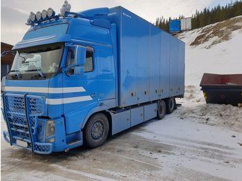 VOLVO FH16 540 6x2,chassis code 9A,retarder,Facelift - ciężarówka furgon
