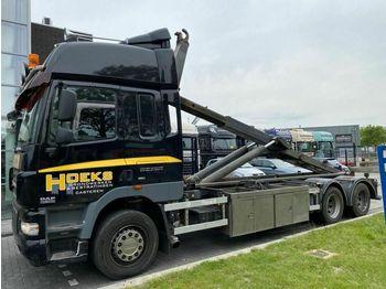 DAF CF 85.360 6X4 MANUAL EURO 5 + VDL HAAKARM  - ciężarówka hakowiec