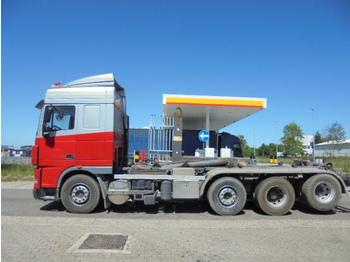 Ciężarówka hakowiec DAF FAK 105.410 TRIPLE