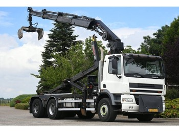 Ciężarówka hakowiec DAF /GINAF X 3232 S !! 24 tm-KRAAN/HAAK!!6x4 GESTUURD!!EURO5!!2011