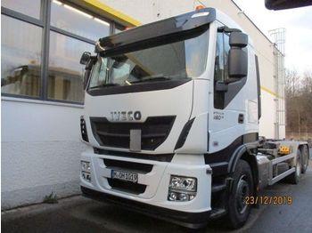 IVECO AS260S46Y/PS gelenkte NLA - ciężarówka hakowiec