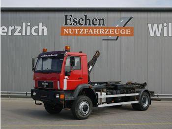 MAN 18.284 LAC 4x4 Abrollkipper Atlas Haken Schalter  - ciężarówka hakowiec