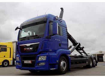 Ciężarówka hakowiec MAN 26.480 TGS E6: zdjęcie 1