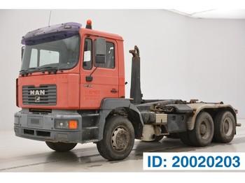 MAN 27.414 - 6x4 - ciężarówka hakowiec
