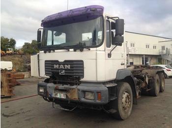 MAN PORTEUR AMPLIROLL - ciężarówka hakowiec