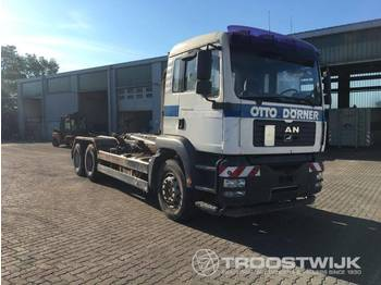 MAN TGA 26.310 6x4 BB + MEILLER RK20.65 - ciężarówka hakowiec