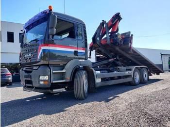 Ciężarówka hakowiec MAN TGA 26.480 6x2 Euro4 Container