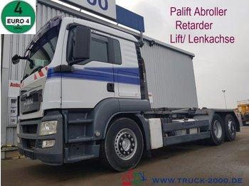 Leasing MAN TGA 26.480 Palift 15t. NL Retarder Deutscher LKW - ciężarówka hakowiec
