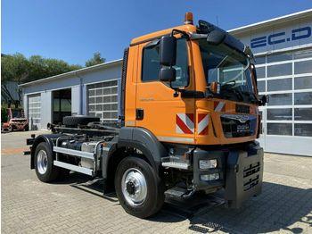 MAN TGM 15.290 4x4 Abrollkipper HIAB *Winterdienst  - ciężarówka hakowiec
